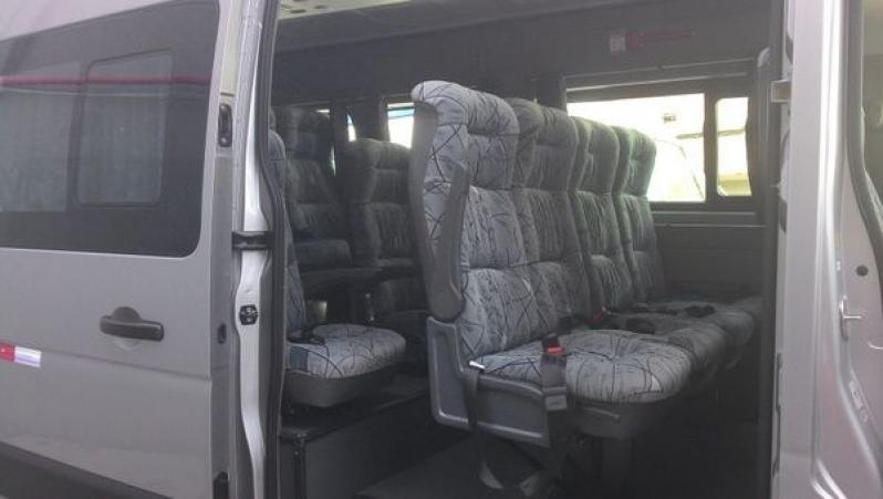 Aluguel de Vans Preço no Sítio Tapera - Transporte para Festas em Santo André
