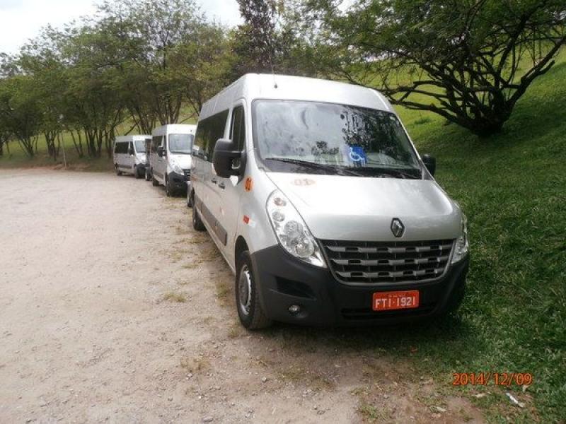 Fretamento de Vans no Jardim Dionisio - Aluguel de Vans Executivas
