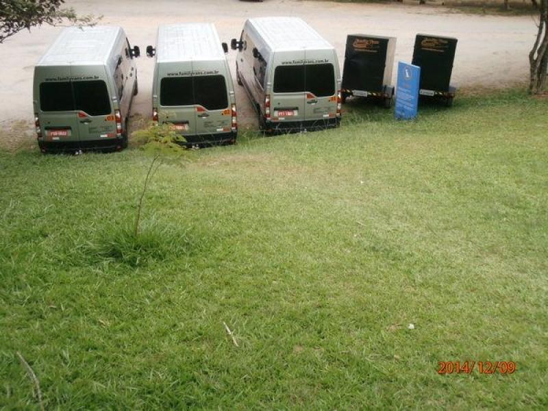 Locação de Vans na Vila Siciliano - Aluguel de Vans para Viagens