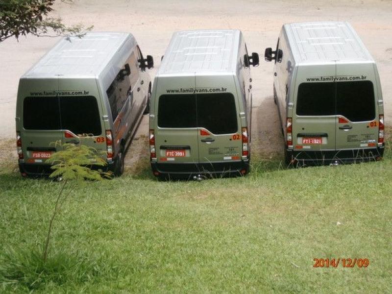 Locação de Vans Preços na Vila Francisco Mendes - Transporte para Festas em São Bernardo