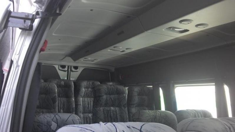Locação de Vans Preços no Jardim das Graças - Van para Transporte de Passageiros