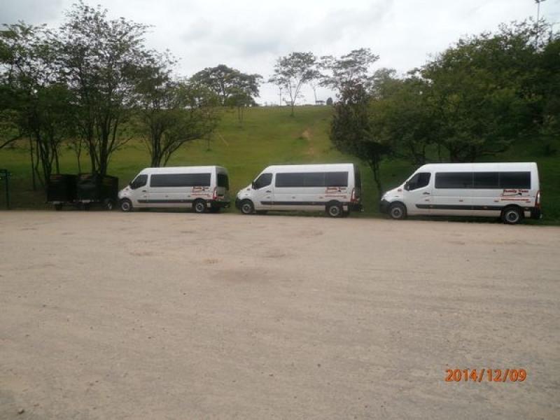 Locadora de Van na Vila Santo Amaro - Locação de Van Executiva