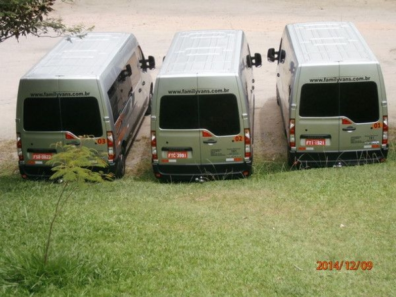 Locadoras de Vans na Vila Bela - Aluguel de Vans Executivas