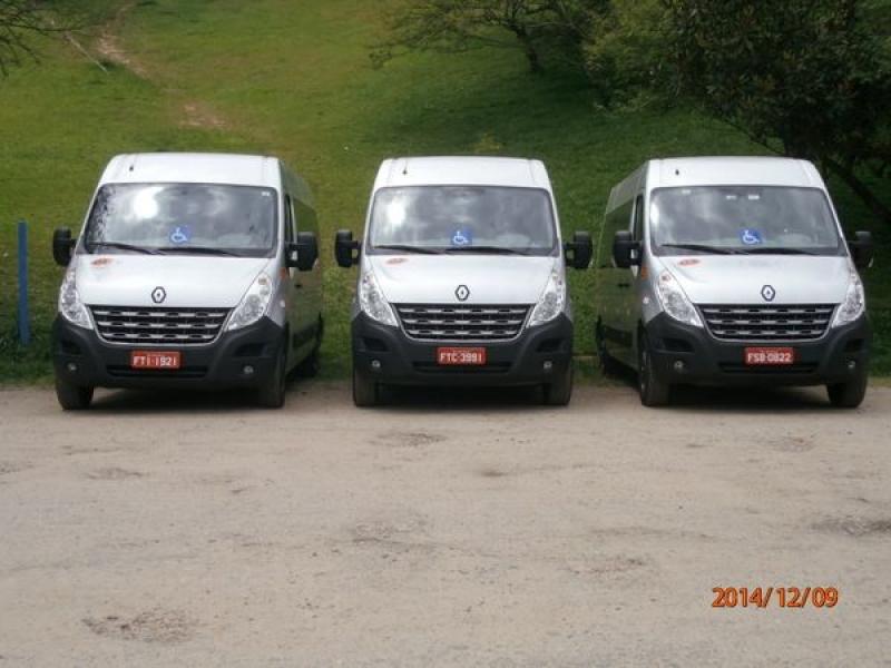 Preço do Transporte Vans no Jardim do Castelo - Translado em São Bernardo