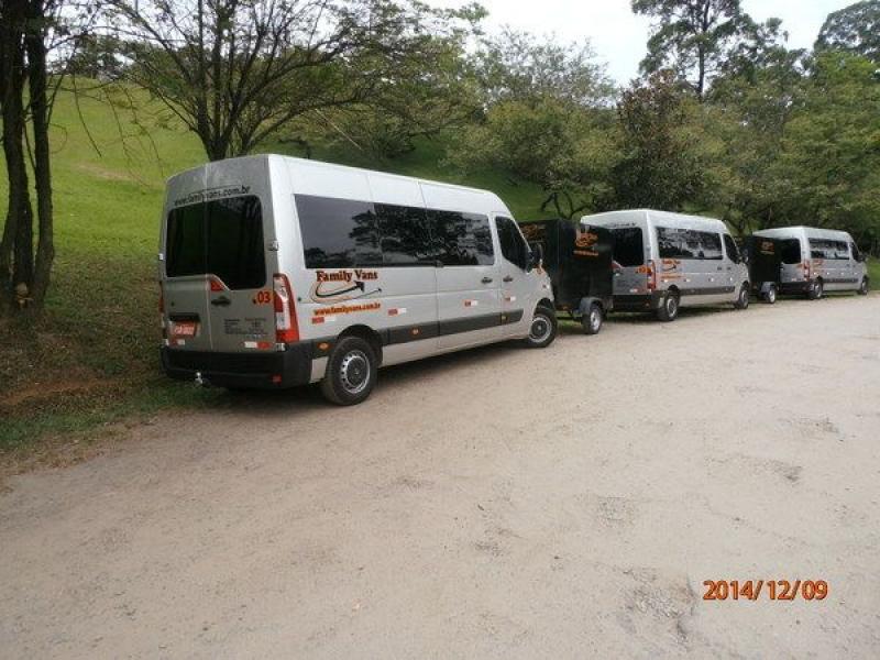 Serviço de Van com Preço Bom no Jardim Santa Cruz - Transporte Vans