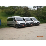Alugar van para transporte de passageiros no Jardim Seckler