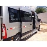 Aluguel de vans para viagens na Lapa de Baixo