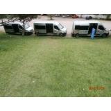 Locação de vans com motorista no Jardim das Laranjeiras