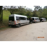 Locar van para transporte de passageiros na Cachoeira