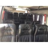 Preço do aluguel de vans na Vila Mascote