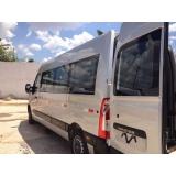 Preço do fretamento de vans na Vila Bandeirantes