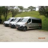 Preço do locação de vans na Vila Sabiá