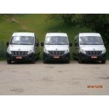 Preço do transporte vans no Jardim do Castelo