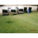 Quais os preços aluguel de vans executivas no Jardim Grimaldi