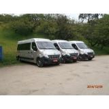 Transporte vans para excursões no Jardim Leônidas Moreira