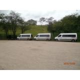 Van para translado na Estância Tangara