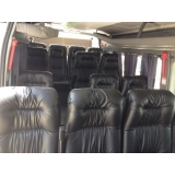 Van para viagem com motorista na Vila Fidalgo