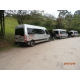 Vans com motorista para viagem na Vila Bertioga