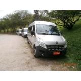 Vans com motorista para viagem na Vila Prima