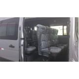 Vans para locação valor na Vila Brasilina