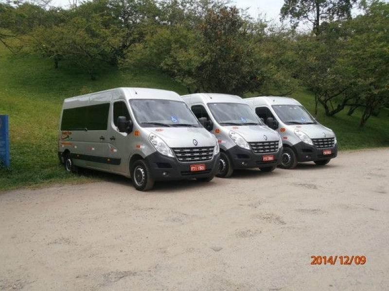 Translado de Van em Campininha - Vans com Motorista para Viagem
