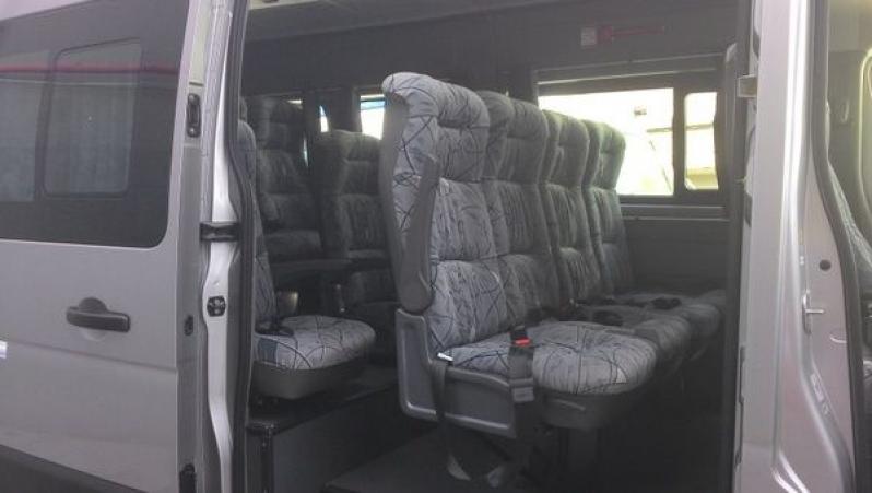 Valor do Transporte de Van na Chácara Armond - Transporte Corporativo em São Caetano