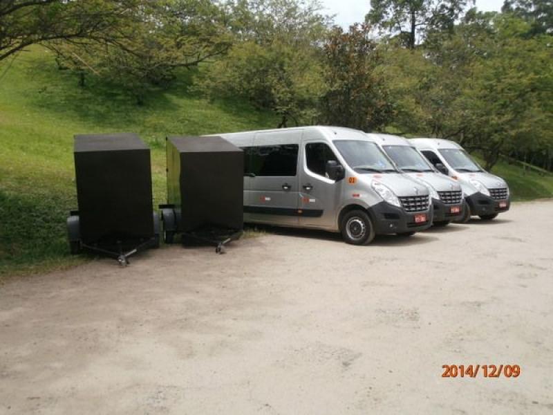 Van para Transporte na Vila Jaci - Translado em Santo André