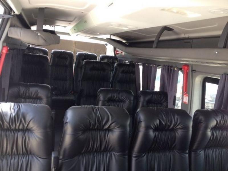 Van para Viagem com Motorista no Jardim das Graças - Aluguel de Van para Viagem