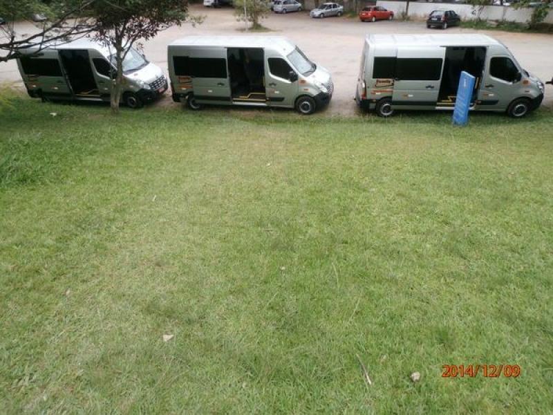 Vans com Motorista para Viagem no Conjunto Promorar Rio Claro - Van de Translado