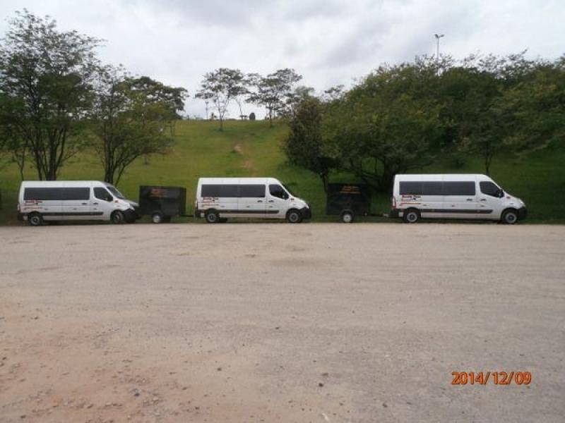 Vans para Aluguel na Vila Cristina - Aluguel de Vans Executivas