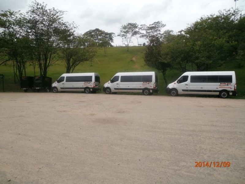 Vans para Aluguel no Jardim Paulo VI - Locação de Vans para Viagens