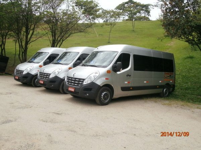 Vans para Aluguel no Jardim Ricardo - Alugar Van para Viajar